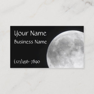 Moon business cards business card printing zazzle uk full moon business cards colourmoves