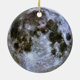 Full Moon Christmas Christmas Ornament