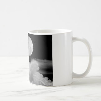 FULL MOON CLOUDS BLACK AND WHITE MUGS
