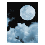 FULL MOON CLOUDS BLUE FULL COLOR FLYER