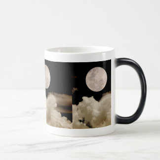 FULL MOON CLOUDS SEPIA MORPHING MUG