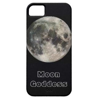 Full Moon Custom Text iPhone 5 Case