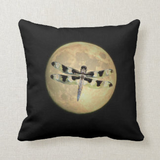 Full Moon Dragonfly Cushion