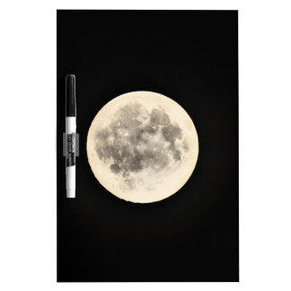 Full Moon Dry Erase Board