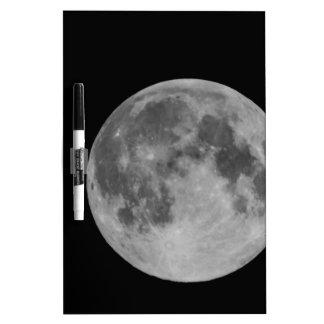 Full moon Dry-Erase whiteboard