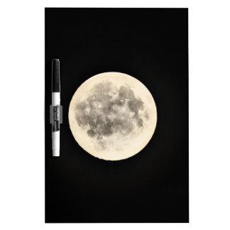 Full Moon Dry Erase Whiteboard