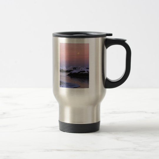 Full Moon High Tide Travel Mug