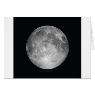 Full Moon Images Card