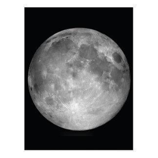 Full Moon Images Postcard