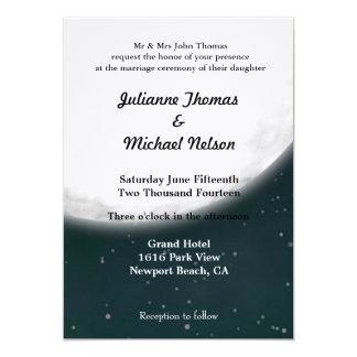 Full Moon Personalized Invitation