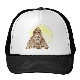 Full Moon KEEP IT SQUATCHY - Bigfoot Researcher's Cap