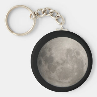 Full Moon Key Ring