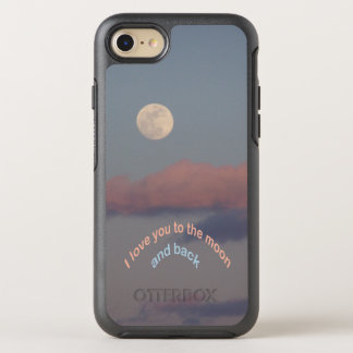 Full Moon Love OtterBox Symmetry iPhone 8/7 Case