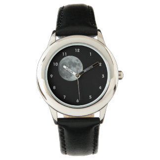 Full Moon Lunar Dark Sky Space Stars Watch