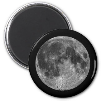 Full Moon Lunar Images from Outer Space Magnet