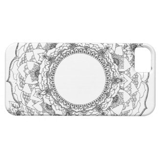 Full Moon Mandala Barely There iPhone 5 Case