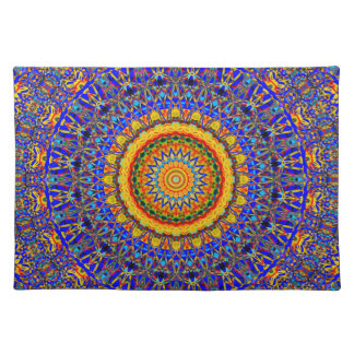 Full Moon Mandala Kaleidoscope Placemat