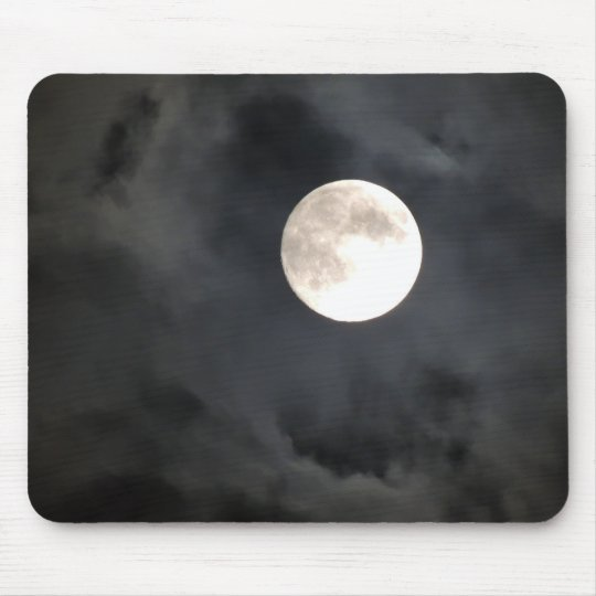 Full Moon Mouse Mat