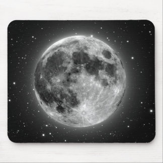 Full Moon Mouse Pads