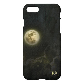 Full Moon Night Sky Personalized iPhone 7 Case