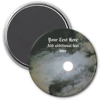 Full Moon Night Sky Personalized Magnet