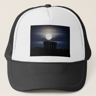 Full Moon over Penshaw Monument Cap/Hat Trucker Hat