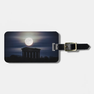 Full Moon over Penshaw Monument Luggage Tag