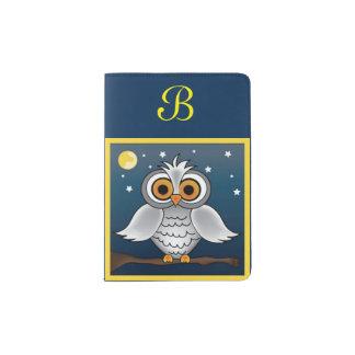 Full Moon Owl Passport Holder