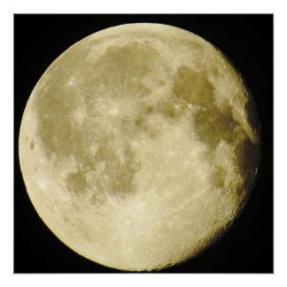Full Moon Photo Poster