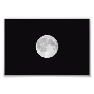 Full Moon Photo Print