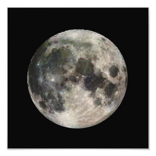 Full Moon Photograph Galileo