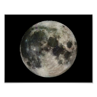 Full Moon Photography Poster