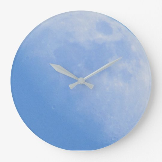 Full Moon Photography Wall Clock