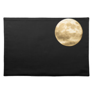 Full moon placemat