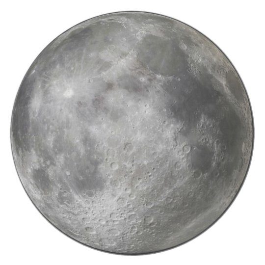 Full moon plate. Why? To freak out werewolves.