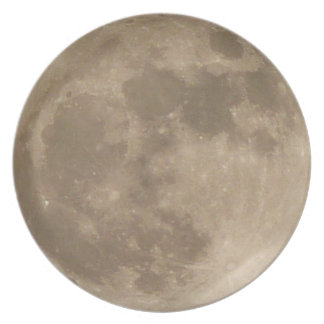 Full Moon Plates Super Moon Gifts