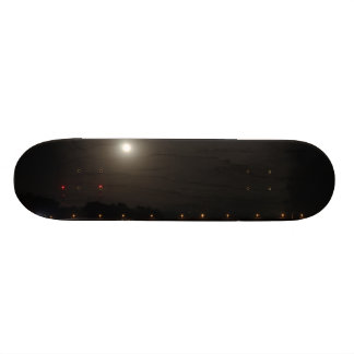 Full Moon Rise Custom Skate Board