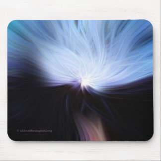 Full Moon Rising Mousepad
