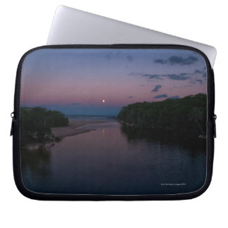 Full Moon rising over  Wattamolla Beach in the Laptop Sleeve