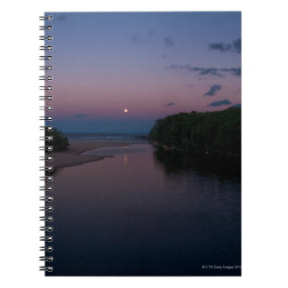 Full Moon rising over  Wattamolla Beach in the Notebook