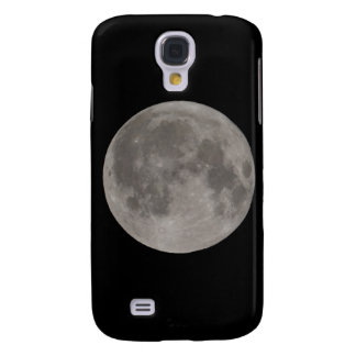 Full moon seen with a telescope at night galaxy s4 case