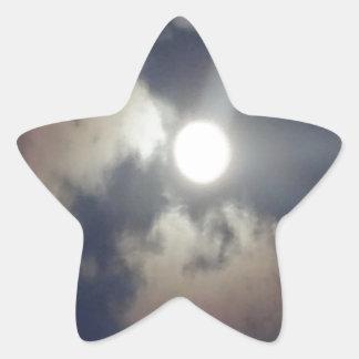 Full Moon Star Sticker