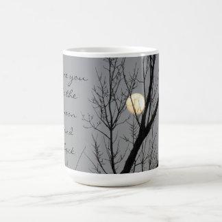 Full Moon & Tree, I Love You to the Moon and Back Coffee Mug