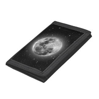 Full Moon Trifold Wallets