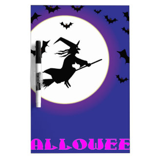 Full Moon Witch Dry Erase Board