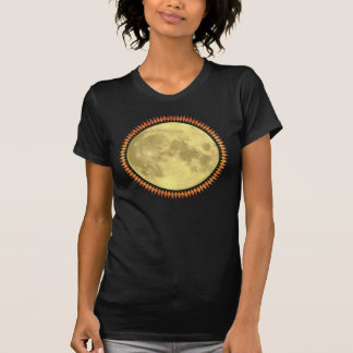 Full Moon with Lunatic Fringe Tee Shirt