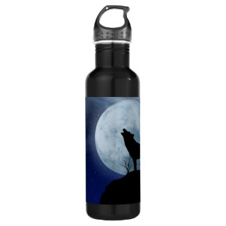 Full Moon Wolf 710 Ml Water Bottle