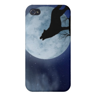Full Moon Wolf Case For The iPhone 4