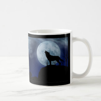 Full Moon Wolf Coffee Mug