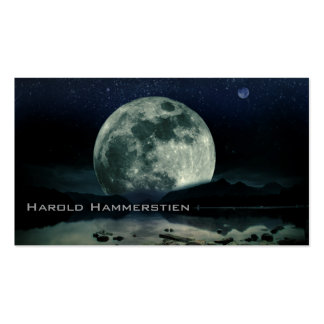 Full Moons Double-Sided Standard Business Cards (Pack Of 100)